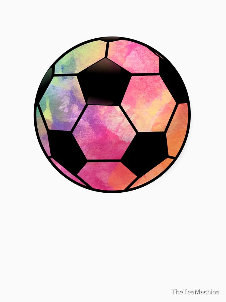soccer ball watercolor cool soccer sticker t shirt pillow classic