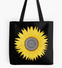 Mandala-Sonnenblume Tasche