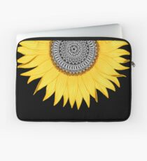 Mandala Sunflower Laptop Sleeve