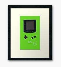 Nintendo Game Boy Color Framed Print