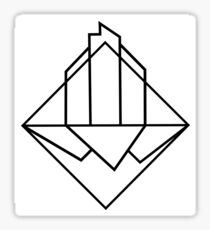Denver Colorado Diamond Sticker