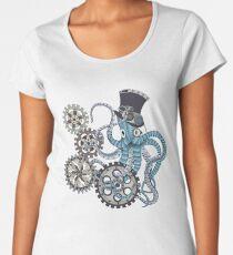 Steampunk Tintenfisch Frauen Premium T-Shirts