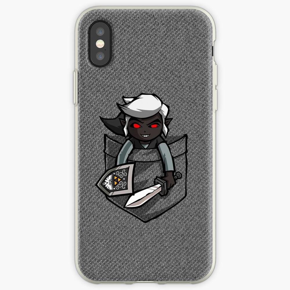 Pocket Dark Link iPhone-Hüllen & Cover