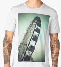 Manchester Ferris Wheel  Men's Premium T-Shirt
