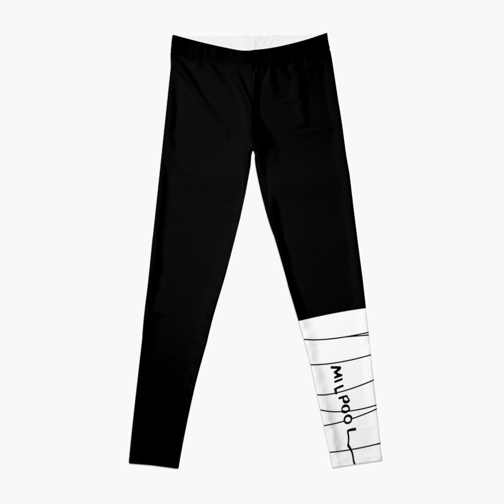 Milpool (Black) [Roufxis] Leggings Front