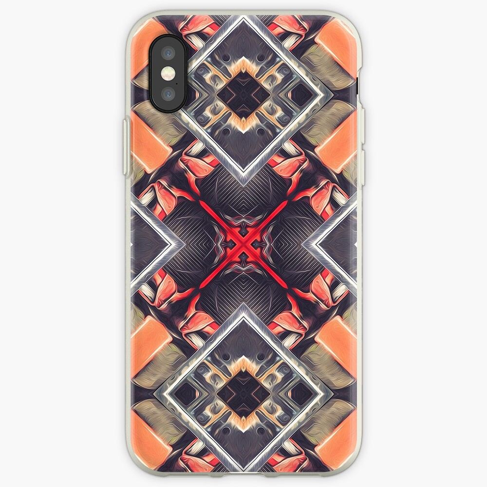 Orange Automotive Abstract iPhone Cases & Covers