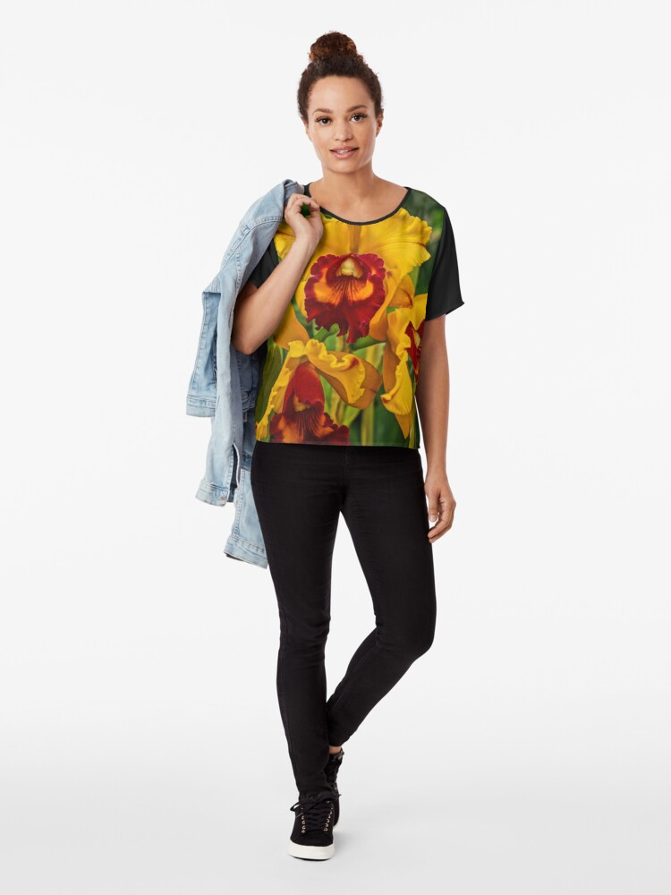 Alternate view of Our Souls Chiffon Top