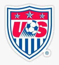 US Soccer Shield - Cool American Soccer Sticker T-Shirt Pillow Sticker