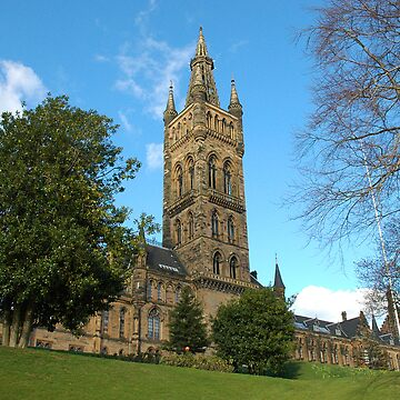 Glasgow University Main Building by memphisto