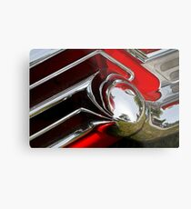 Cadillac Chrome Metal Print