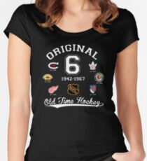 Original Six Women's Fitted Scoop T-Shirt