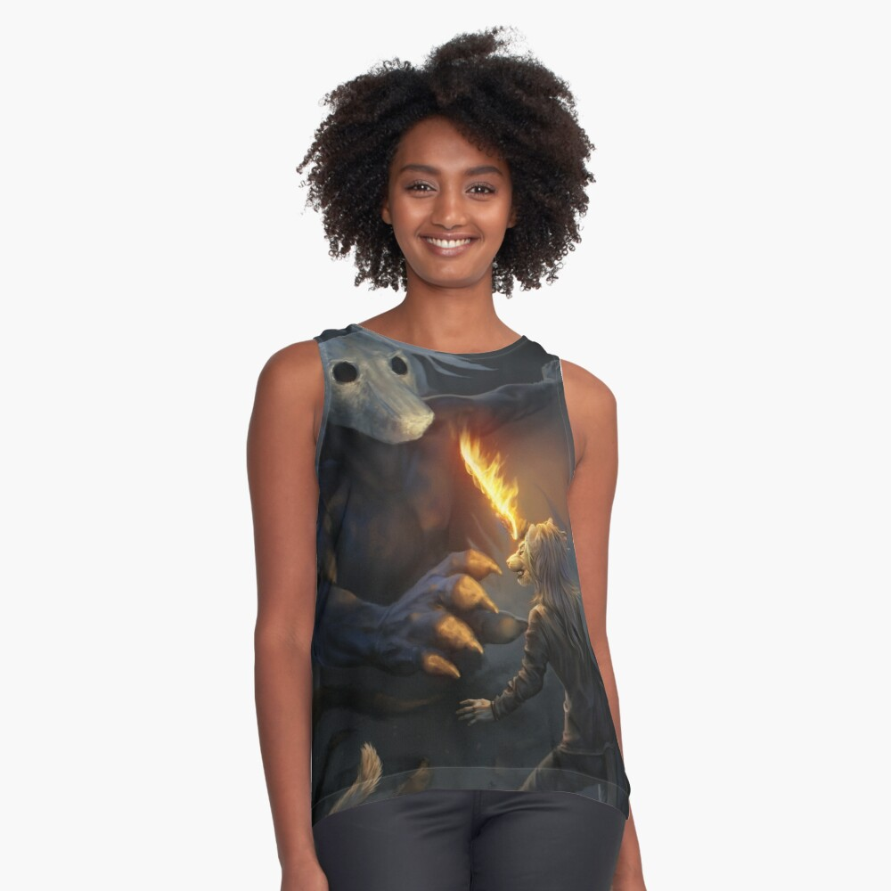 Fight Contrast Tank Front