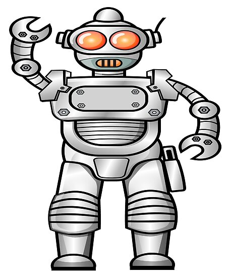 Vintage Robot Gifts Engineers Robotics Robot Games Posters By