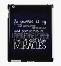 Doctor Who Quote iPad Case/Skin