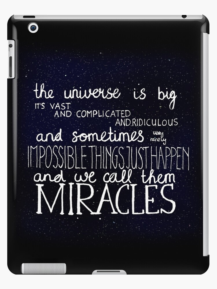 doctor who quote ipad case skin by oskargrace redbubble