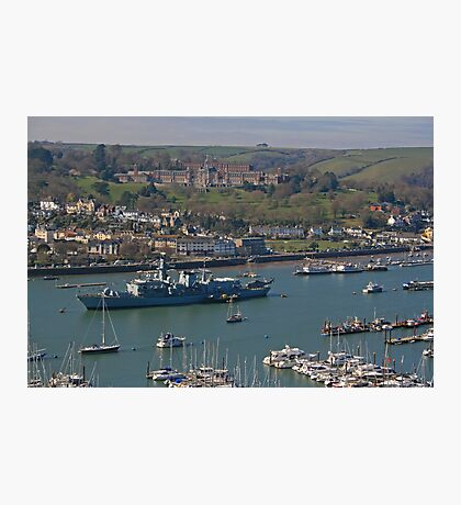 HMS St Albans, Dartmouth Photographic Print