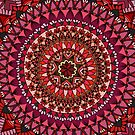The Red Moon Mandala by paviash