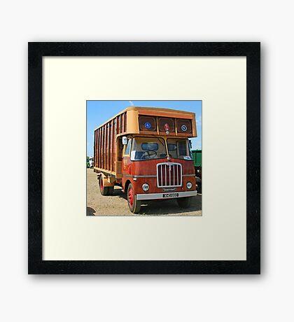 Thornycroft Swiftsure Framed Print