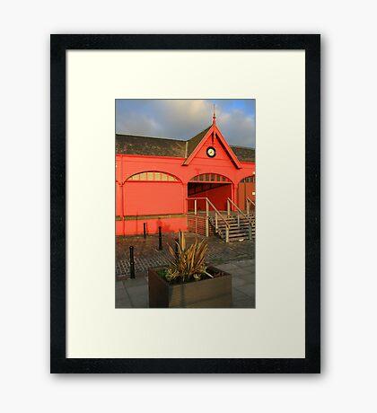 Newhaven Fishmarket Framed Print