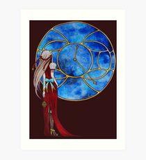 Fenêtre sur les étoiles (Window of the stars) Art Print