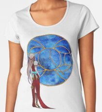 Fenêtre sur les étoiles (Window of the stars) Women's Premium T-Shirt