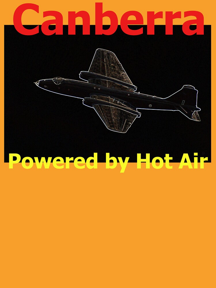 Canberra. Powered by Hot Air - T Shirt Design by muz2142