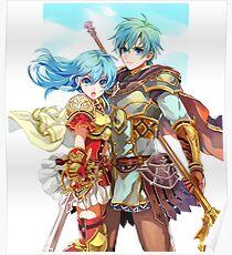 Ephraim&Eirika - Fire Emblem Heroes Poster