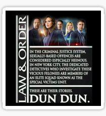 Dun Dun Sticker