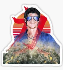 Strength of the Dragon - Rising Sun - Bruce Lee's Style Sticker