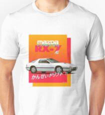 Mazda RX-7 FC Slim Fit T-Shirt