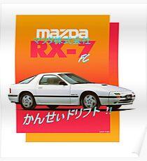 Mazda RX-7 FC Poster