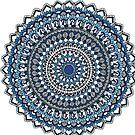 Deep blue sea mandala by paviash