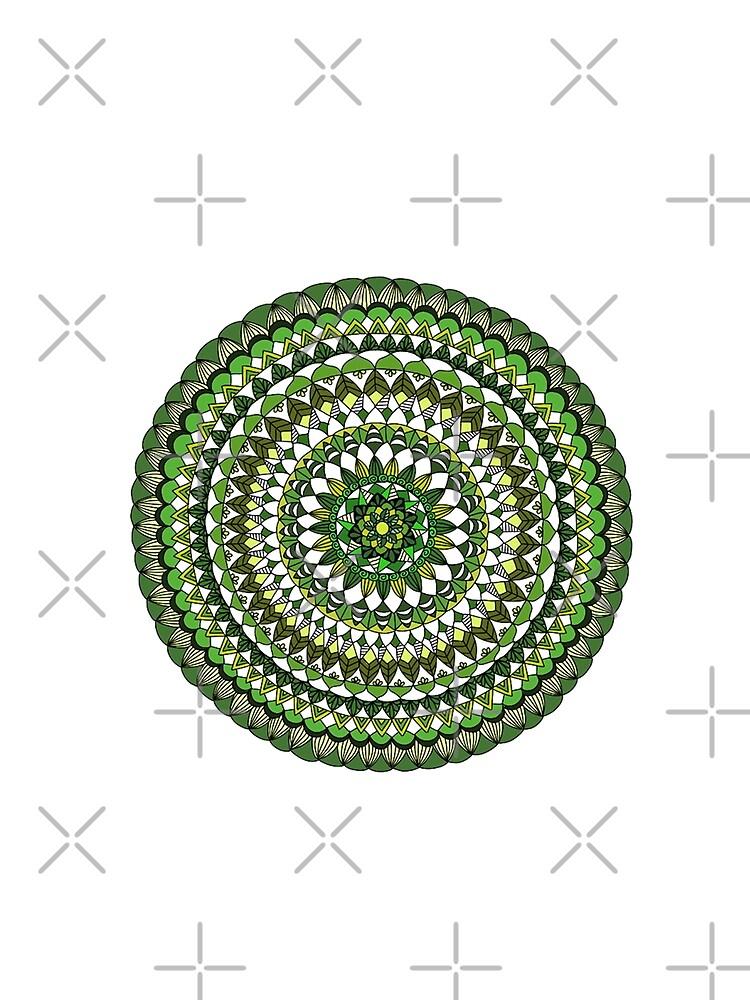 Evergreen Mandala by paviash
