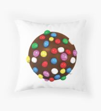 Candy Crush Color Bomb Throw Pillow
