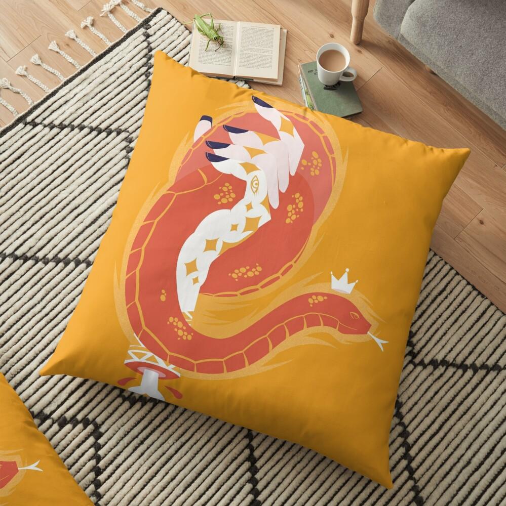 Handy Dandy Snake Floor Pillow