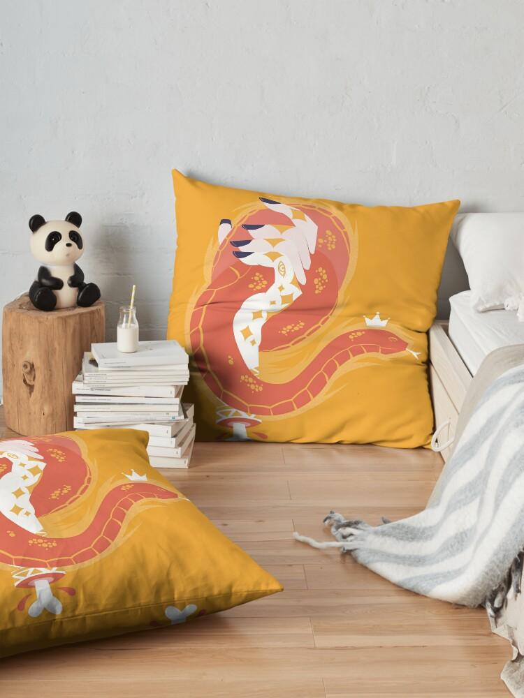 Alternate view of Handy Dandy Snake Floor Pillow