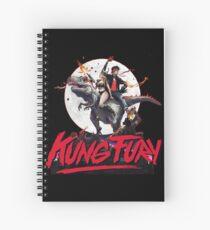 KUNG FURY Spiral Notebook
