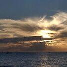 Sunset, Fremantle, Bather's Beach W.A. by Sandra Chung