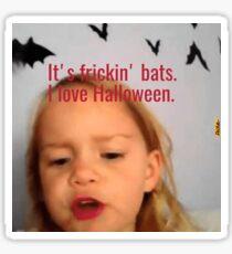 I <3 Halloween Sticker