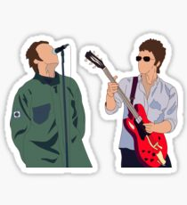 Liam and Noel Gallagher Sticker