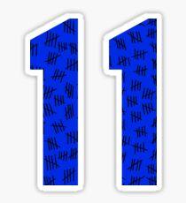 Eleven #2 Sticker