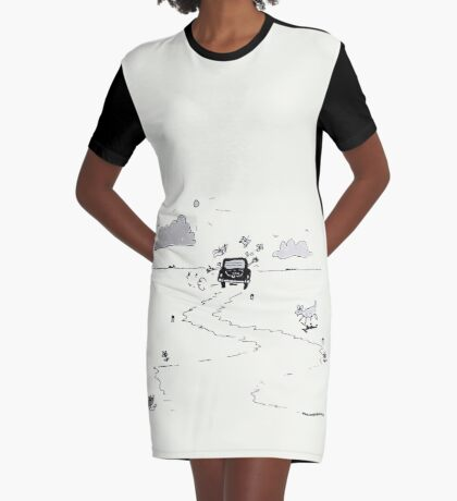 Going on vacation Graphic T-Shirt Dress