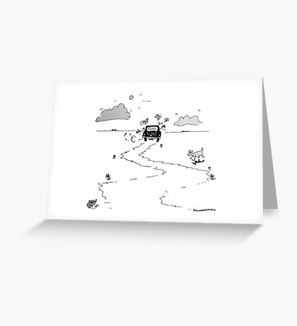 Going on vacation Greeting Card
