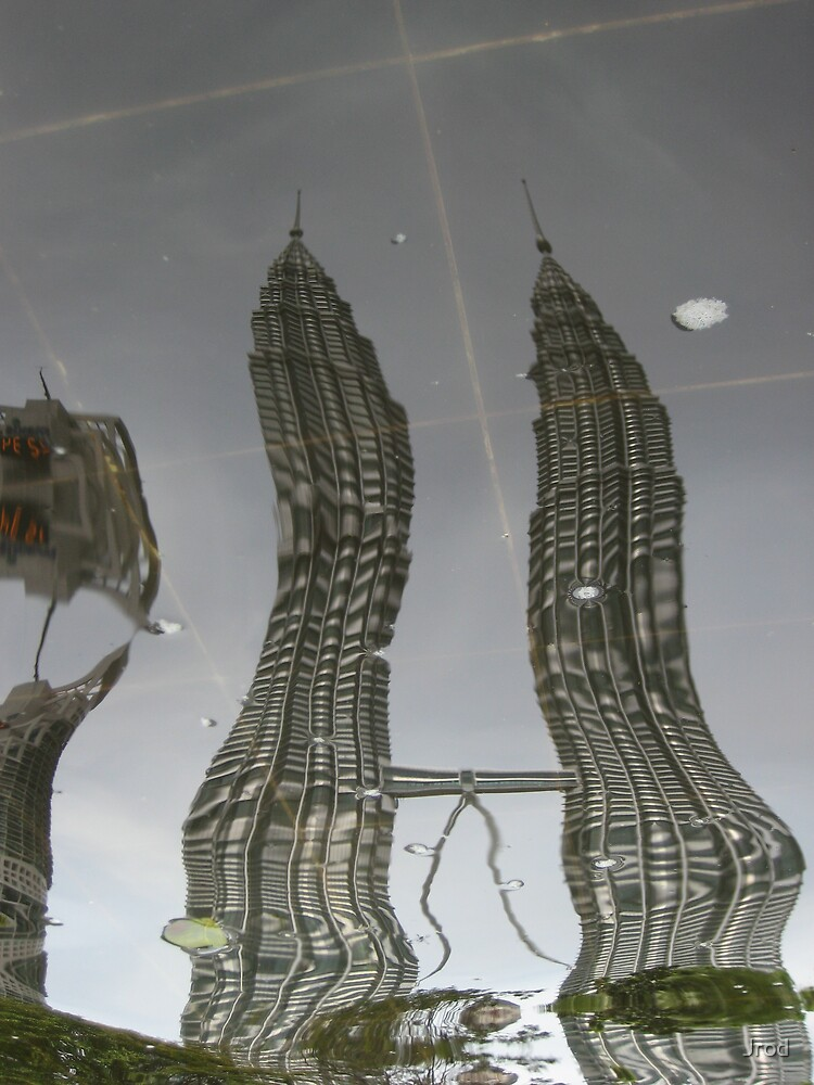 Petronas Towers Reflection by Jrod