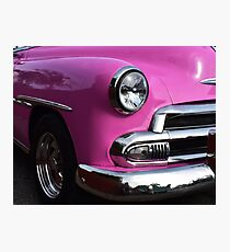 Tropical Reflections in Pink and Chrome Photographic Print