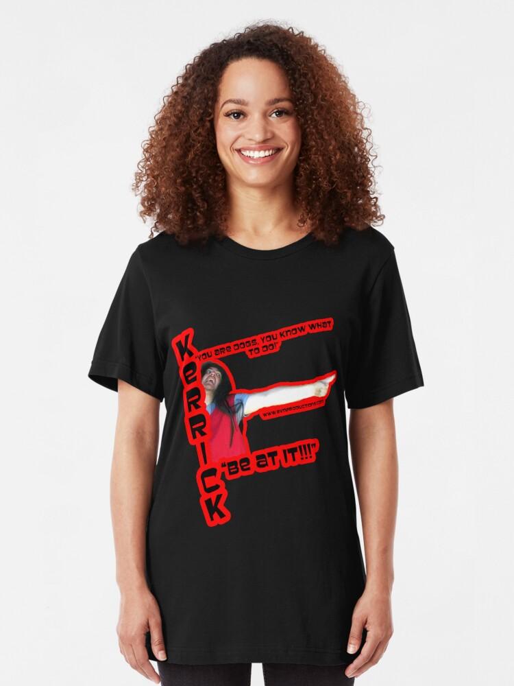 Alternate view of Kerrick - Darksun Of Time Slim Fit T-Shirt