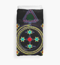 Solomon Circle Goetia Duvet Cover