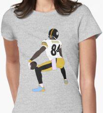 Antonio Brown Touchdown Celebration Women's Fitted T-Shirt
