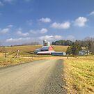 Country Farm by KathleenRinker