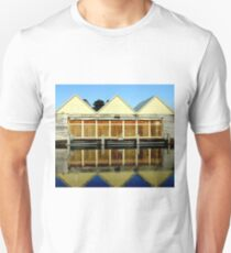 Reflections of an old boat Warehouse  Unisex T-Shirt